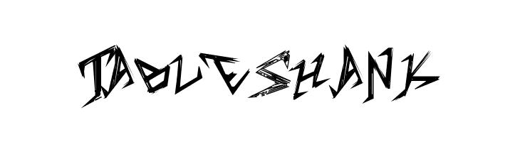 TableShank  Скачать бесплатные шрифты