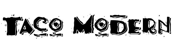 Taco Modern  Скачать бесплатные шрифты