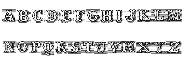TagWood Шрифта строчной