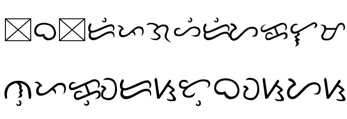 Tagalog Doctrina 1593 Fonte MINÚSCULAS
