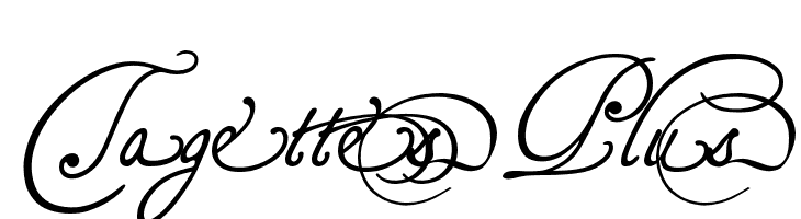 TagettesPlus  baixar fontes gratis