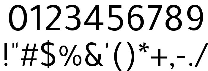 Tajawal Font OTHER CHARS