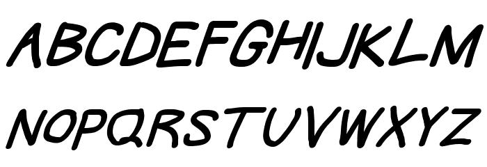 Take Off, Hosehead Font UPPERCASE