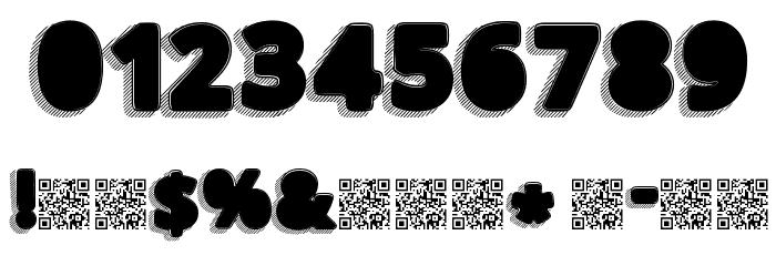 TakenBlack Font OTHER CHARS
