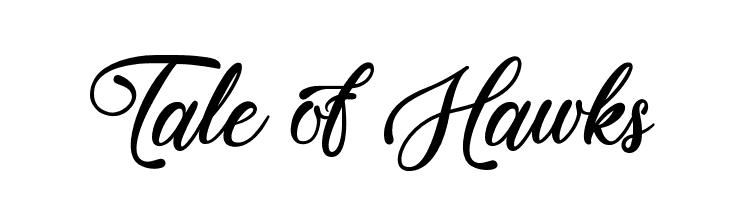 Tale of Hawks  Free Fonts Download