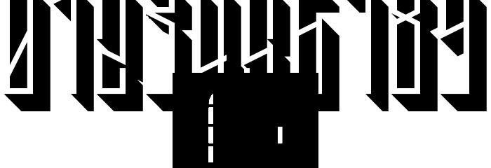 Tall Boy 3D Regular Font OTHER CHARS