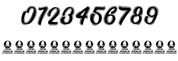 TastysushiLine Font OTHER CHARS