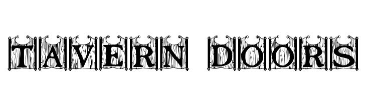 Tavern Doors  नि: शुल्क फ़ॉन्ट्स डाउनलोड