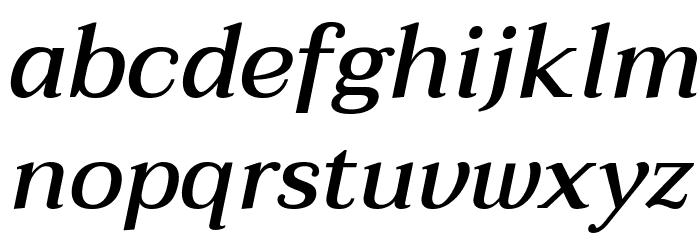 Taviraj Medium Italic Шрифта строчной