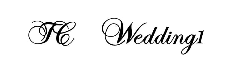 TC _Wedding1  font caratteri gratis