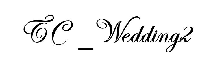 TC _Wedding2  les polices de caractères gratuit télécharger