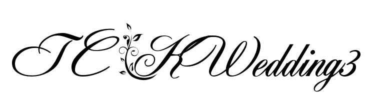 TC _Wedding3  font caratteri gratis