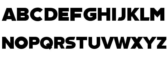 TCF Cinemascope Font UPPERCASE