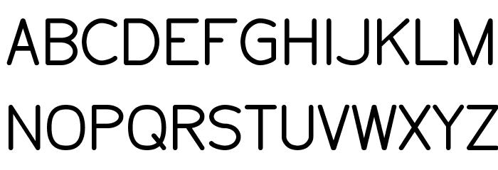Tecnico Grueso Schriftart Groß