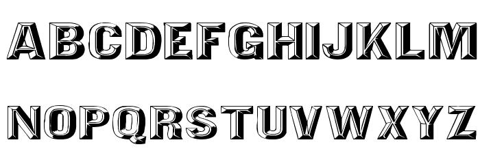 Tejaratchi Ex Lefti Font UPPERCASE