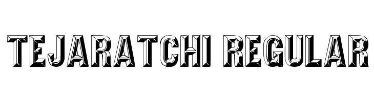 Tejaratchi Regular  Free Fonts Download