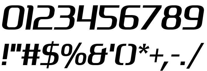 Tekno Beat フォント その他の文字