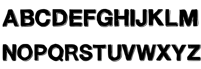 TeleVision Font Litere mari