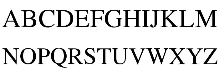 TempoFont Font Litere mari