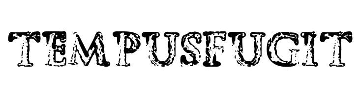 Tempus Fugit  Скачать бесплатные шрифты