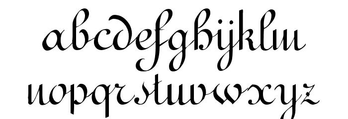 Terpsichore!` Font LOWERCASE