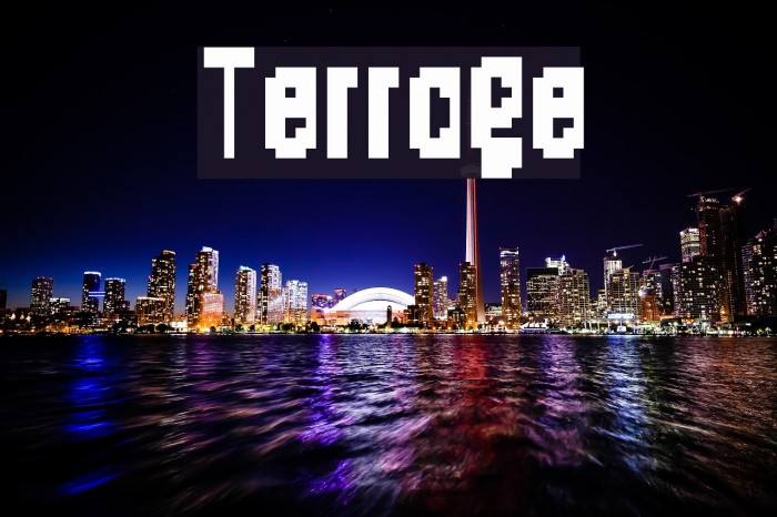 Terrage Шрифта examples