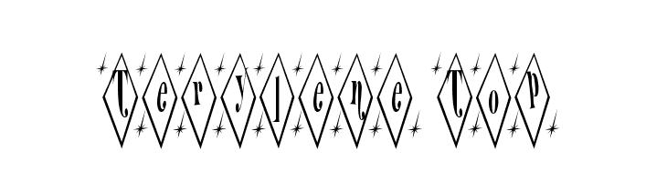 Terylene Top  font caratteri gratis