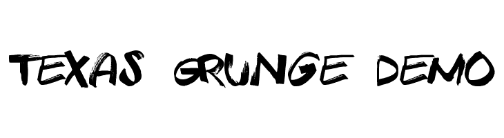 Texas Grunge Demo  Free Fonts Download