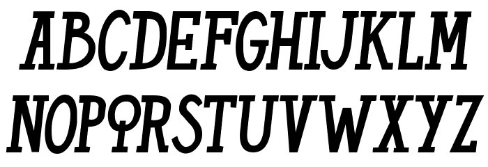 THE CHIQUITAS Font LOWERCASE