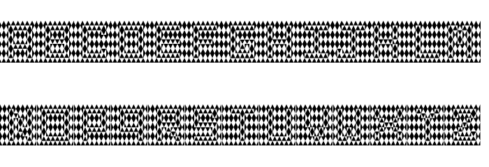 THE ILLUSION OF THE JESTER Regular Font LOWERCASE