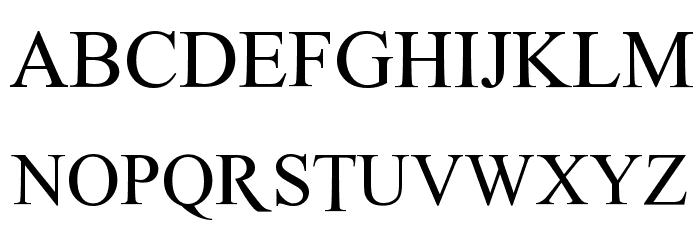 THOR Font UPPERCASE