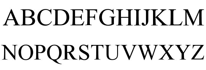 THOR Font LOWERCASE