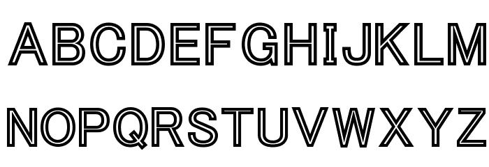 Tha Cool Kidz Black Font LOWERCASE