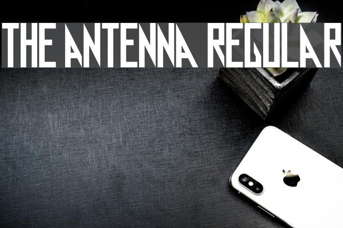 Free Antenna Regular Fonts