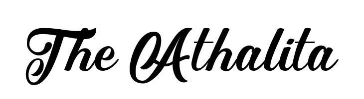 The Athalita  Descarca Fonturi Gratis