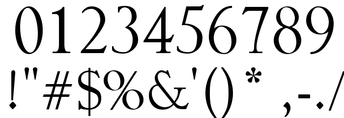 The Blue Oasis Font OTHER CHARS