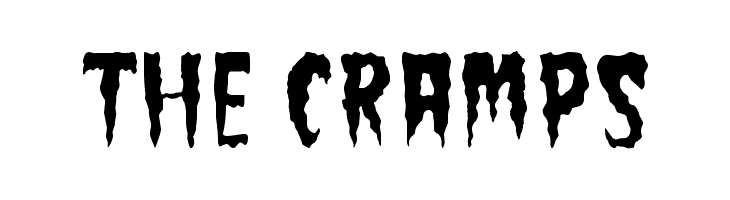 The Cramps  Free Fonts Download