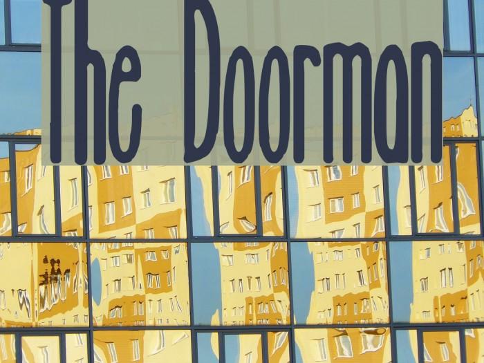 The Doorman Font examples