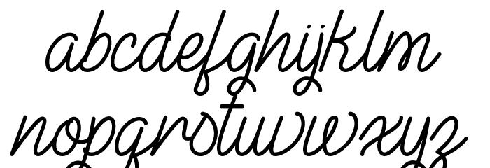 The Illusion Of Beauty Schriftart Kleinbuchstaben