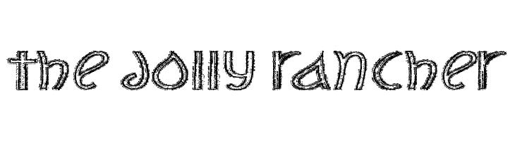 The Jolly Rancher  Frei Schriftart Herunterladen