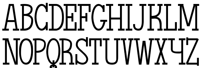 The Quest of Discoveries Font UPPERCASE