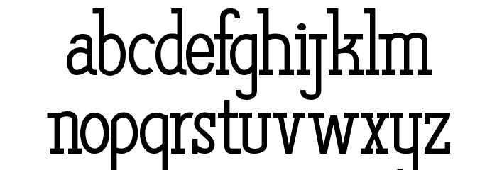 The Quest of Discoveries Font LOWERCASE