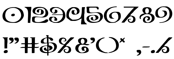 The Shire Expanded Font OTHER CHARS