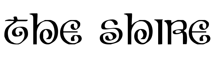 The Shire  Free Fonts Download