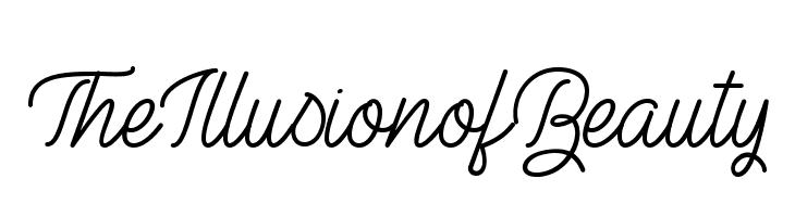 TheIllusionofBeauty Frei Schriftart Herunterladen
