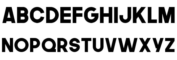 TheNextFont Font Litere mari