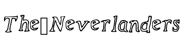 The_Neverlanders  font caratteri gratis