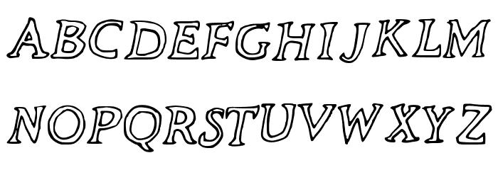 The_Neverlanders Font Litere mari