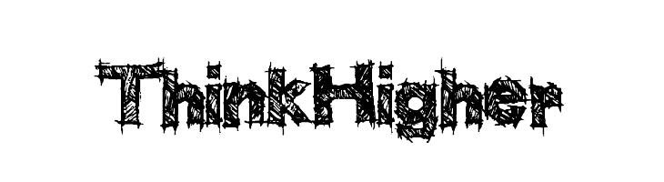 ThinkHigher  les polices de caractères gratuit télécharger