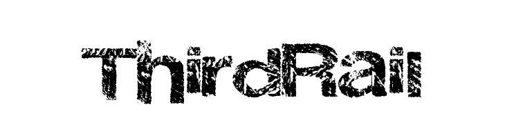 ThirdRail  नि: शुल्क फ़ॉन्ट्स डाउनलोड
